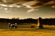 Battlefield Site Prints - Chickamauga Sunset Print by Violet Clark