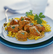 Curry Prints - Chicken Curry Print by David Munns