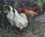 Wild Life Originals - Chickens by Dali Higa