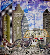 Jude Ongley-Mowris - Chickens in The City