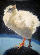 Chickie Print by Edith Hunsberger