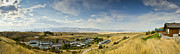 Chico Photo Framed Prints - Chico Hot springs Pray Montana Panoramic Framed Print by Dustin K Ryan