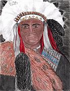 Leader Drawings Originals - Chief by Jason Mally