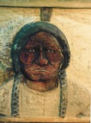 Handcrafted Reliefs - Chief Sitting Bull by Michael Pasko