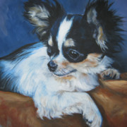 Chihuahua Framed Prints - Chihuahua Framed Print by Lee Ann Shepard