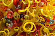 Birthday Glass Art - Chihuly Curly Glass by Cheryl McClure