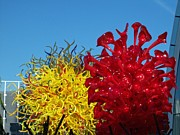Chihuly Glass Garden 5 Print by Randall Weidner