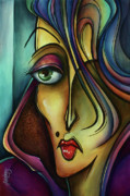 Mood Painting Prints - Chil Print by Michael Lang