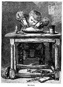 1875 Photos - Child Eating, 1875 by Granger