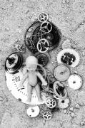 Component Photo Prints - Child In Time Print by Michal Boubin