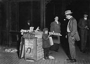 Lewis Wickes Hine Prints - Child Labor, Jerald Schaitberger Of 416 Print by Everett