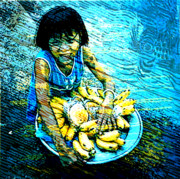 Child Labour Posters - Child Labour Series 1  Poster by Tammera Malicki-Wong