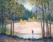 Yosemite Pastels - Child of the Moment by Barbara Beaudreau