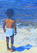 Yemaya Prints - Child of the Sea Print by Duwayne Washington