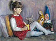 Dionisii Donchev - Child with toys