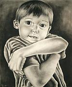 Precious Drawings Prints - Childhood Innocence Print by Ashley Warbritton