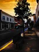 Small Towns Mixed Media Metal Prints - Childhood Memory Metal Print by Lj Lambert