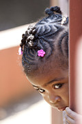 Little Girl Photos - Childlike Curiosity by Heiko Koehrer-Wagner