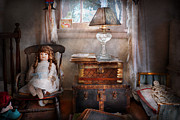 Little Girl Photos - Children - Toy - A little girls room  by Mike Savad