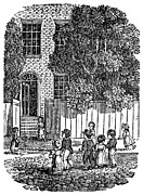1835 Photos - Children In Street, 1835 by Granger