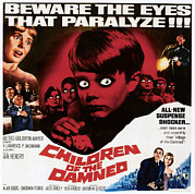 1963 Movies Prints - Children Of The Damned, 1963 Print by Everett