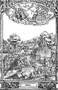 Greco-roman Mythology Framed Prints - Children Of The Moon, 16th Century Framed Print by Photo Researchers