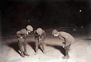 Lewis Wickes Hine Prints - Children Playing A Dice Game Print by Everett