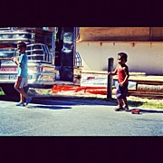 Children Photos - #children #playing #jeepney #pinoy by Kiko Bustamante
