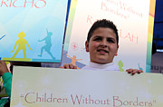 Unity Art - Children Without Borders by Munir Alawi