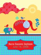 Children's Elephant Poster Print by Misha Maynerick
