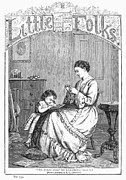 Children Book Art - CHILDRENS MAGAZINE, c1885 by Granger