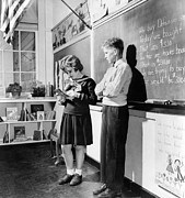 Wwii Propaganda Photos - Childrens School Clothing In 1943. In by Everett