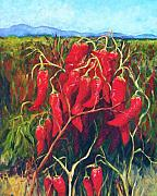 Chile Paintings - Chile Field by Candy Mayer