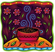 Traditional Culture Digital Art - Chili In A Pot by Nadia Richie Studio