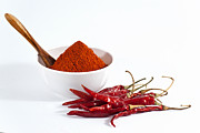 Kolkata Photos - Chili Powder And Red Chilies by Subir Basak
