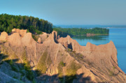 Www.guywhiteleyphoto.com Photos - Chimney Bluffs 1750 by Guy Whiteley