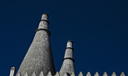 Chimneys Photo Framed Prints - Chimneys in Sintra Portugal Framed Print by Marion McCristall