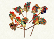 Oriental Prints - China - Land of Many Faces Print by Christine Till