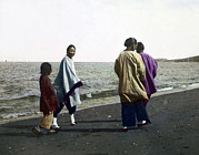Slide Prints - China, Four Women Walking Print by Everett