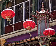 Paper Lantern Posters - China Town San Francisco Poster by Kelley King