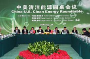 Bswh052011 Prints - China-us Clean Energy Roundtable Print by Everett