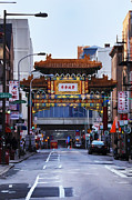 Philadelphia Metal Prints - Chinatown - Philadelphia Metal Print by Bill Cannon