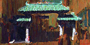 Cityscape Digital Art - Chinatown Gate by Wingsdomain Art and Photography