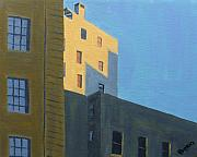 Boston Painting Originals - Chinatown Shadows by Laurie Breton