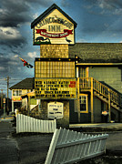 Chincoteague Island Prints - Chincoteague Inn Print by Steven Ainsworth
