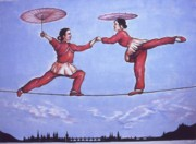 Framed Prints - Chinese Circus - Wall Print by Peter Art Prints Posters Gallery