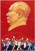 Dictator Photos - Chinese Communist Poster by Granger