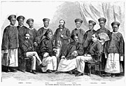 Delegation Prints - Chinese Delegation, 1868 Print by Granger