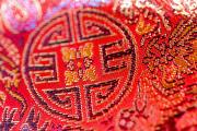 Embroidered Prints - Chinese Embroidery Print by Ray Laskowitz - Printscapes