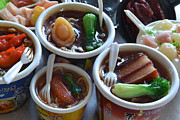 Miniatures Art - Chinese Food Miniatures 1 by Bill Owen